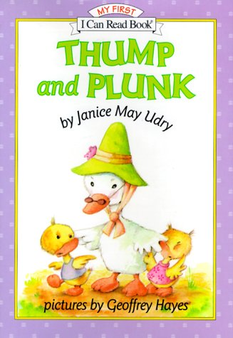 9780060285289: Thump and Plunk (My First I Can Read - Level Pre1 (Hardback))