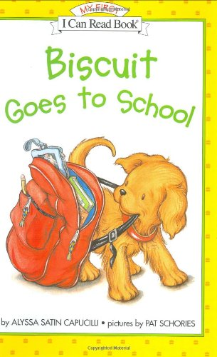 9780060286835: Biscuit Goes to School (My First I Can Read)