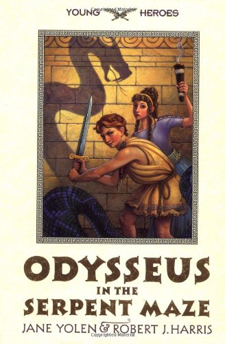 9780060287344: Odysseus in the Serpent Maze (Young Heroes)
