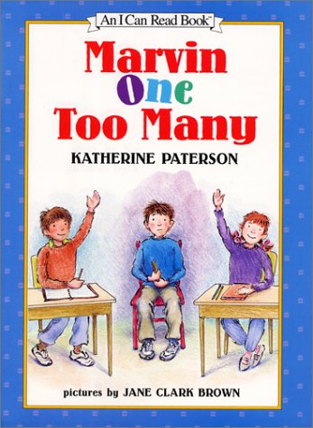Marvin One Too Many (I Can Read: Katherine Paterson
