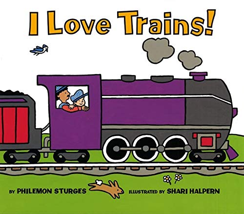 9780060289003: I Love Trains!