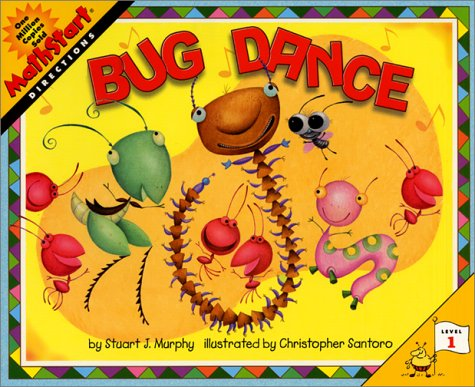 9780060289102: Bug Dance (Mathstart: Level 1 (HarperCollins Hardcover))