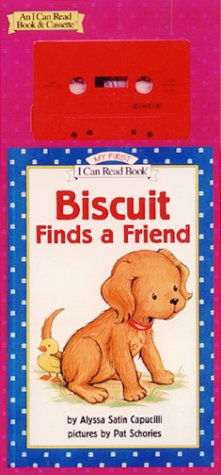 9780060293246: Biscuit Finds a Friend Book and Tape (My First I Can Read)