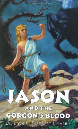 9780060294526: Jason and the Gorgon's Blood (Young Heroes)