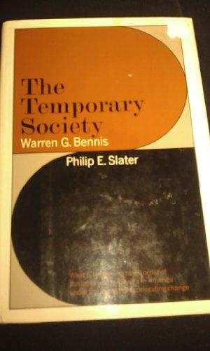 9780060306250: Temporary Society
