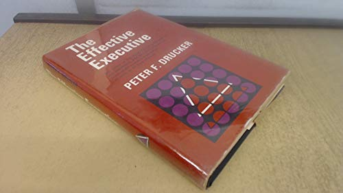 9780060318253: The Effective Executive