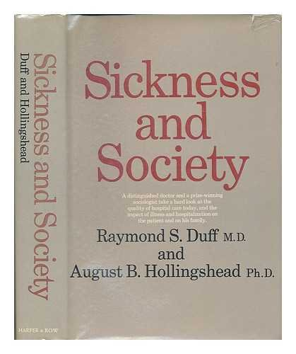 9780060318406: Sickness and Society