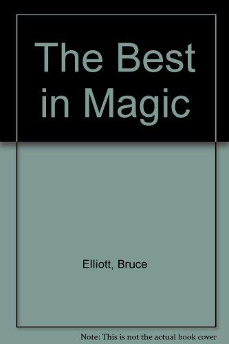 9780060319205: The Best in Magic
