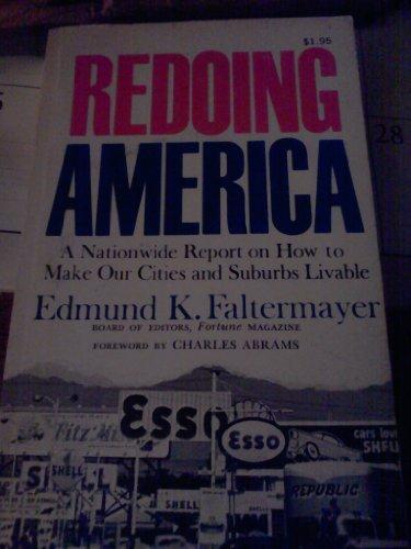 9780060320508: Redoing America