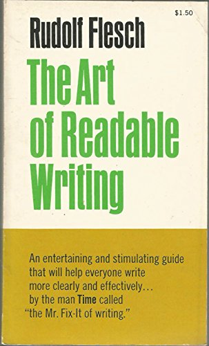 9780060322205: Art of Readable Writing
