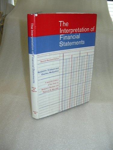 9780060324902: Interpretation of Financial Statements