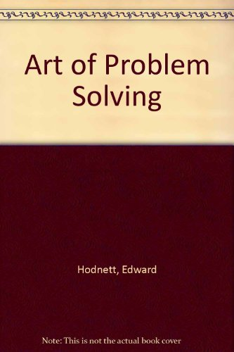 9780060327903: Art of Problem Solving