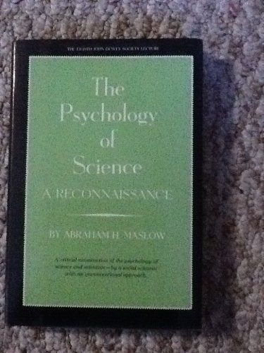 9780060341459: Psychology of Science (J.Dewey Society)