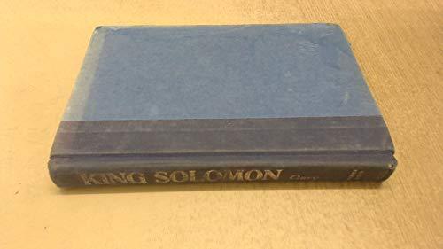 9780060390198: King Solomon