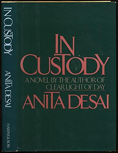 9780060390389: In Custody