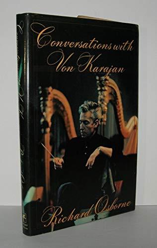 9780060391072: Conversations With Von Karajan