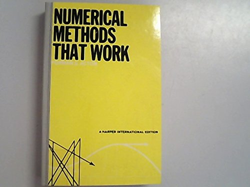 9780060401610: Numerical Methods That Work