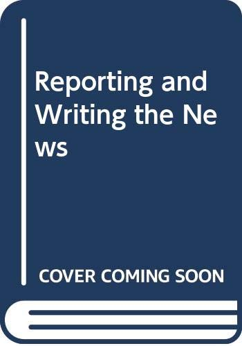 Reporting and Writing the News 83: Warren Kendall Agee;
