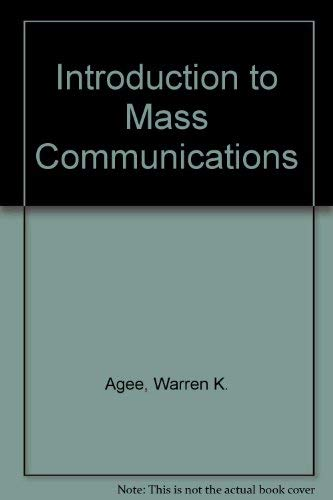 9780060401818: Introduction to Mass Communications