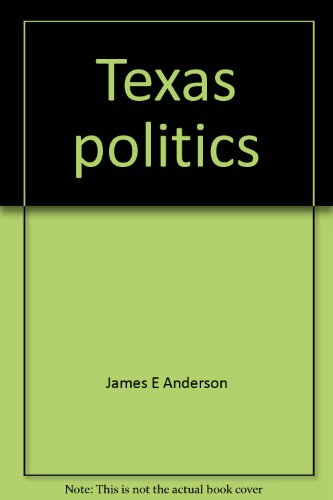 9780060402631: Texas politics: An introduction