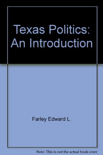 9780060402648: Texas politics: An introduction