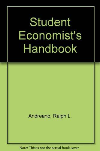9780060402846: Student Economist's Handbook