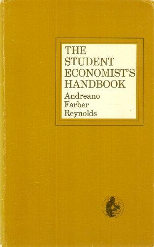 9780060402853: Student Economist's Handbook