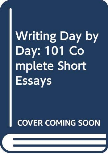 9780060403621: Writing Day by Day: 101 Complete Short Essays