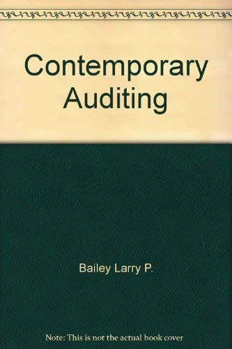 9780060404468: Contemporary auditing