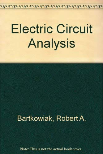 9780060404635: Electric Circuit Analysis