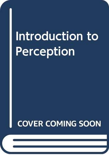 9780060405144: Introduction to Perception
