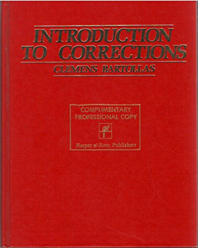 9780060405168: Introduction to corrections