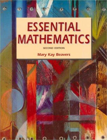 9780060406028: Essential Mathematics (2nd Edition)