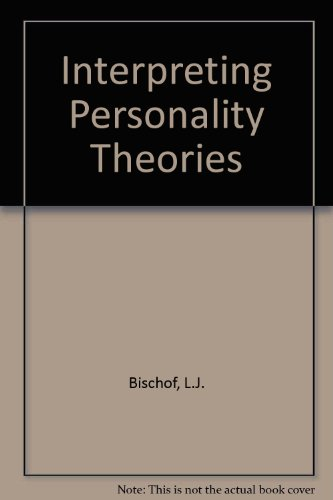 9780060407223: Interpreting Personality Theories