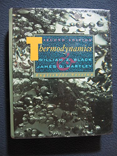 9780060407346: Thermodynamics 2e Black