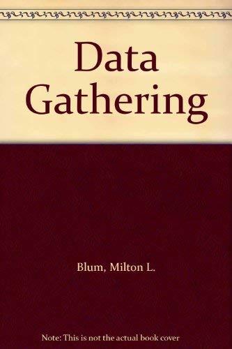 9780060407773: Data Gathering