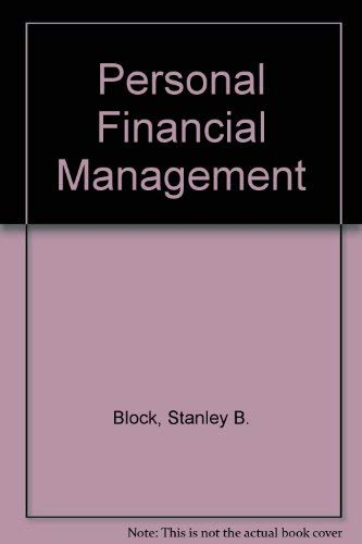 Personal Financial Management: Peavy, John W.,