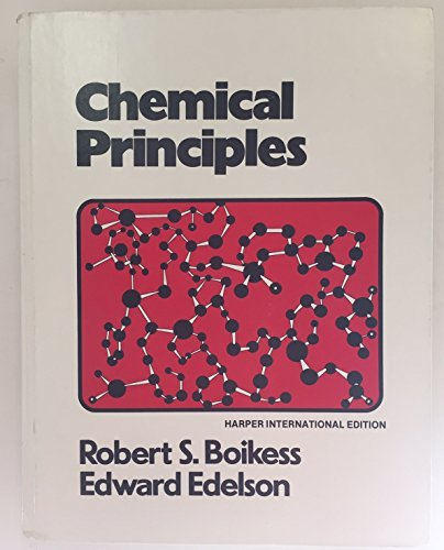 9780060408077: Chemical principles