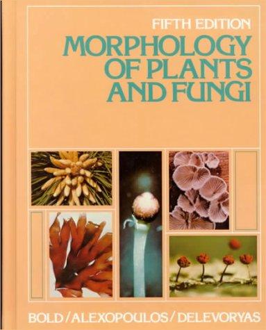 9780060408398: Morphology of Plants and Fungi