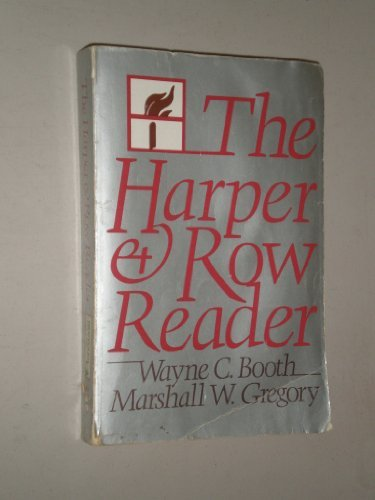 9780060408459: The Harper and Row Reader: Liberal Education Through Reading and Writing