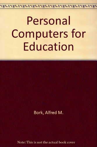 9780060408664: Personal Computers for Education