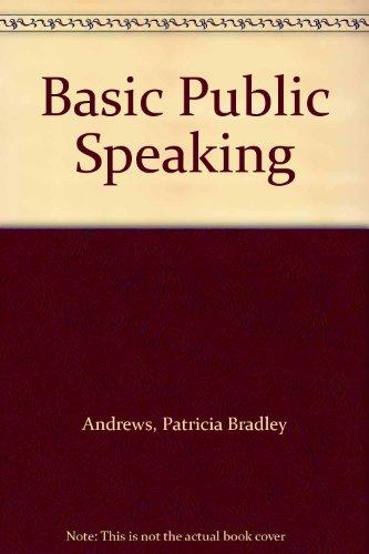9780060409258: Basic Public Speaking