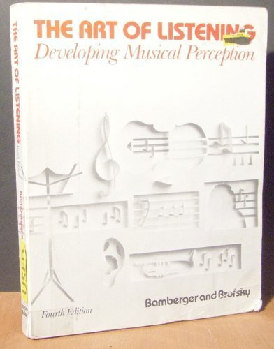 9780060409432: The art of listening: Developing musical perception
