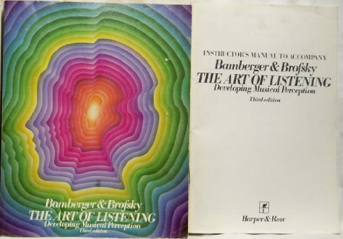 9780060409487: Art of Listening: Developing Musical Perception