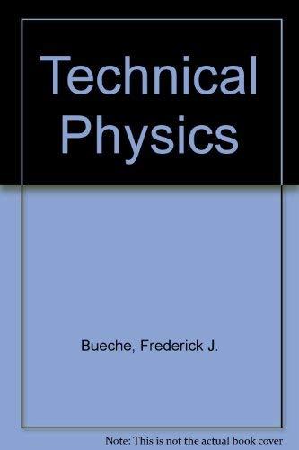 9780060410339: Technical Physics