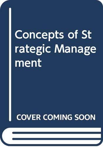 Concepts of Strategic Management: Lloyd L. Byars
