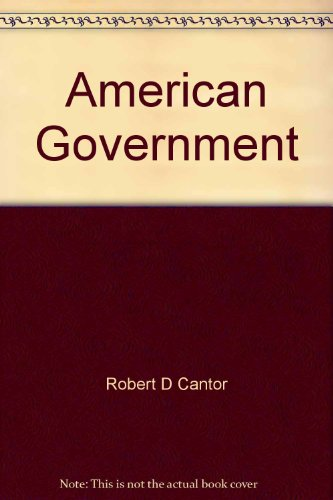 9780060411695: Title: American Government