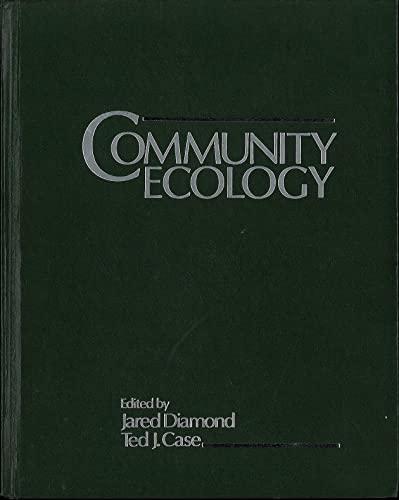 9780060412029: Community Ecology