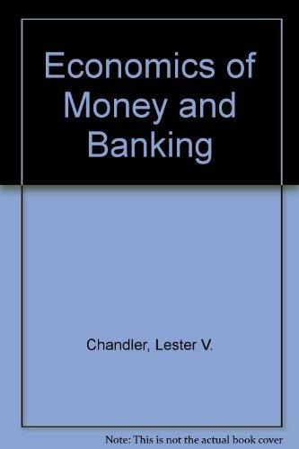 9780060412340: Economics of Money and Banking