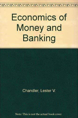 9780060412364: Economics of Money and Banking